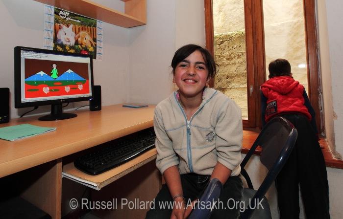 computer skills Naregatsi Institute Shushi Artsakh Nagorno Karabakh