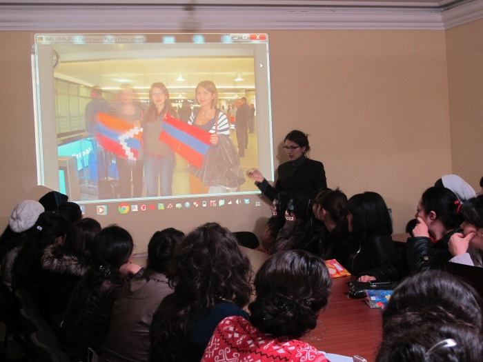 Artsakh Youth Development nagorno Karabakh Stepanakert Susanna Petrossian
