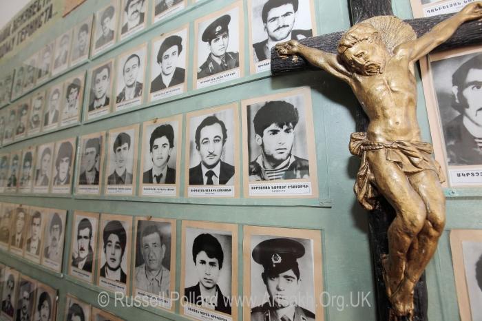Centre missing soldiers Stepanakert Artsakh Nagorno Karabakh