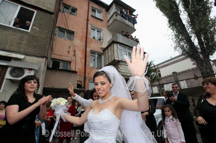 wedding day stepanakert Artsakh Nagorno Karabakh