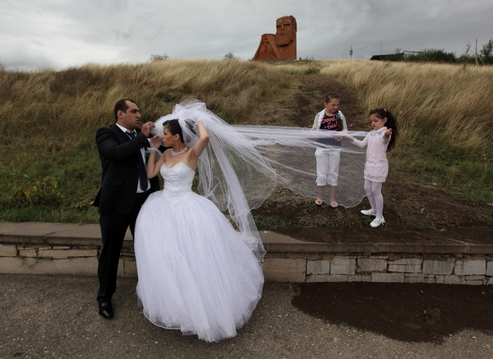 Wedding Artsakh Nagorno Karabakh Stepanakert Shushi Caucasus Armenia