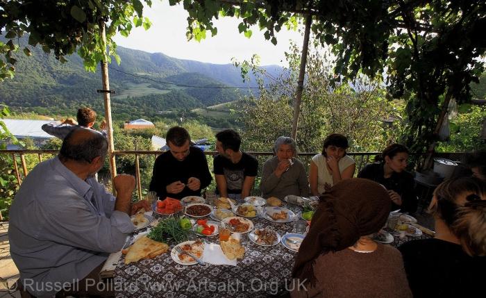 Family life Stepanakert Artsakh Nagorno Karabakh