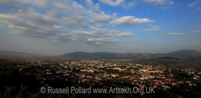 Stepanakert Artsakh Nagorno-Karabakh view landscape Shushi photograph