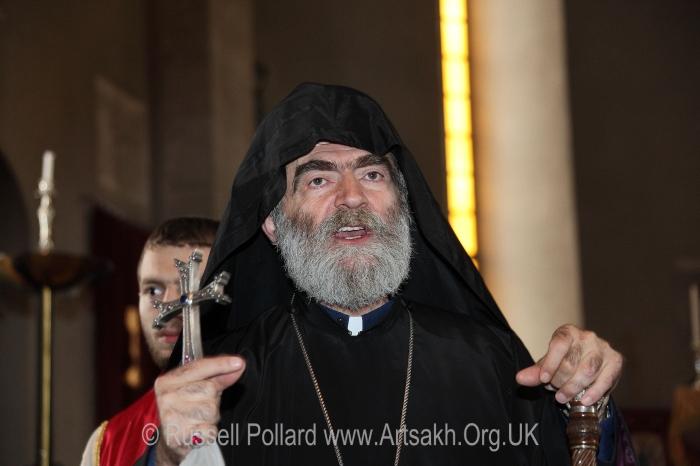 Bishop Barkev Mardirosian Primate Nagorno Karabakh Artsakh Shushi Cathedral