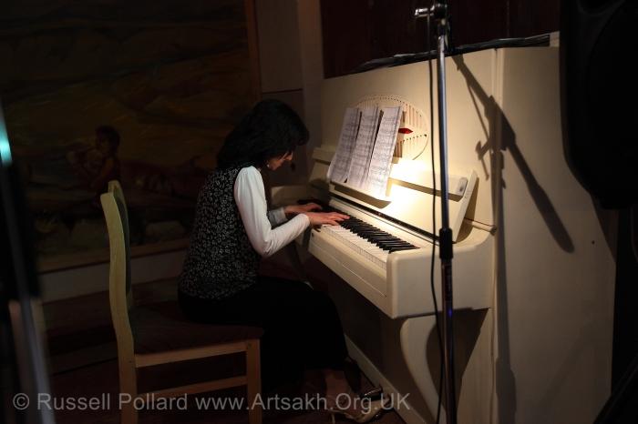 Music piano Shushi Artsakh Stepanakert Nagorno Karabakh
